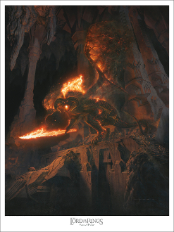 "The Balrog - ""Bane of Durin"" PAPER EDITION"