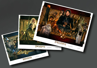 The Lord of the Rings Trilogy lithograph bundle