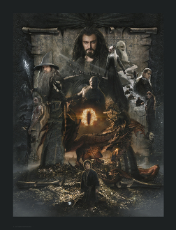 The Hobbit: The Desolation of Smaug CANVAS GICLEE