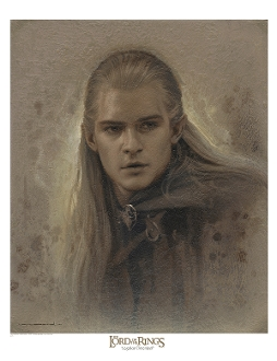 Legolas Greenleaf Antique Art Print