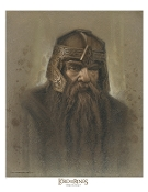 Gimli the Dwarf Antique Art Print