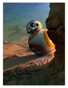 Star Wars BB-8 Sunset Vigil Artist Proof Giclee