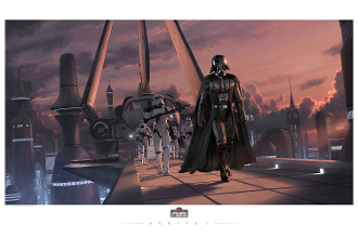 2017-STAR WARS CELEBRATION EXCLUSIVE FINE ART GICLEE