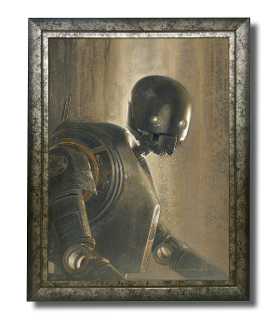 K2-SO original painting -Timeless Series