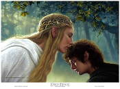 Galadriel's Blessing - Galadriel and Frodo