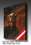 "Darth Maul ""Firestorm"" ARTIST PROOF"