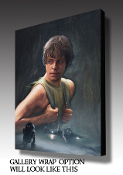 "Luke Skywalker ""Marooned"" ARTIST PROOF"