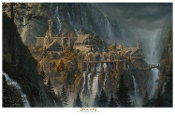Rivendell: The Lord of the Rings Paper Giclee