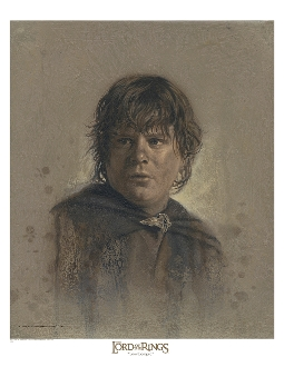 Samwise Gamgee Antique Art Print