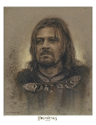 Boromir Antique Art Print - The Lord of the Rings