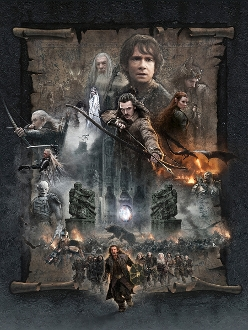 The Hobbit: The Battle of the Five Armies CANVAS GICLEE