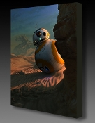 Star Wars BB-8 Sunset Vigil Artist Proof canvas Giclee