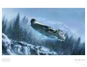 "The Millennium Falcon ""She's Still Got it "" Artist Proof Giclee"