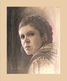 LEIA ARTIST PROOF  - TIMELESS SERIES