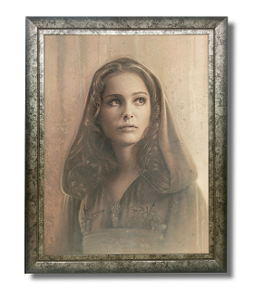 Padme original painting -Timeless Series