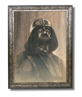 Darth Vader original painting -Timeless Series