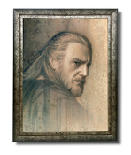 Qui-Gon-Jinn original painting -Timeless Series