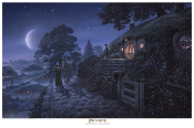 """Bag End: Expect me when you see me!"" - Paper Giclee"
