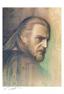 Qui-Gon Jinn ARTIST PROOF GICLEE - TIMELESS SERIES