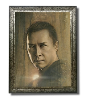 Chirrut original painting -Timeless Series
