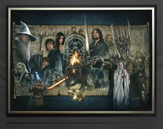 The Fellowship of the Ring-FRAMED