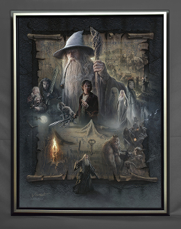 The Hobbit An Unexpected Journey- FRAMED
