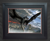 Terror over Osgiliath FRAMED Giclee