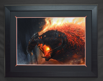 Flame of Udun FRAMED Giclee