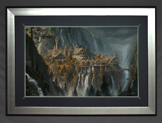 Rivendell:The Last Homely House East of the Sea-FRAMED