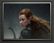 Tauriel:Daughter of Mirkwood-FRAMED