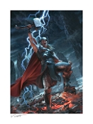 Thor: Breaker of Brimstone ARTIST PROOF paper giclee